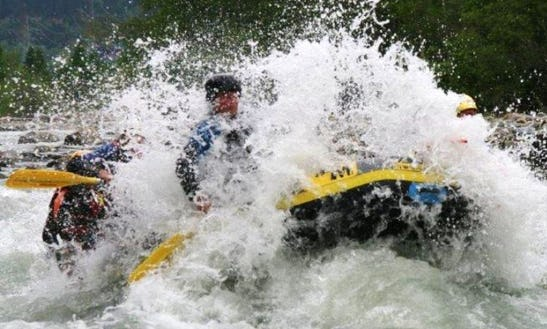 Experienced The Wild Water With The Rafting Trips In Flattach, Austria For Up To 4 People