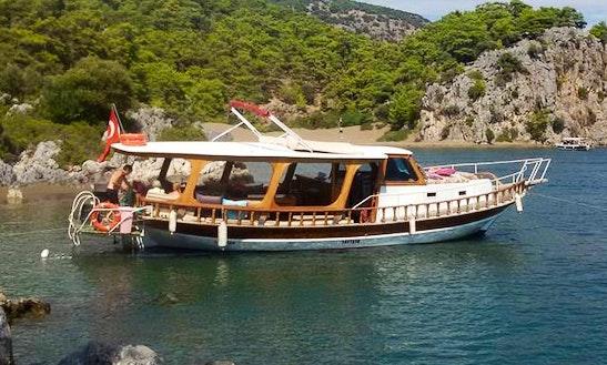 Charter 41' Passenger Boat In Dalyan Belediyesi, Muğla