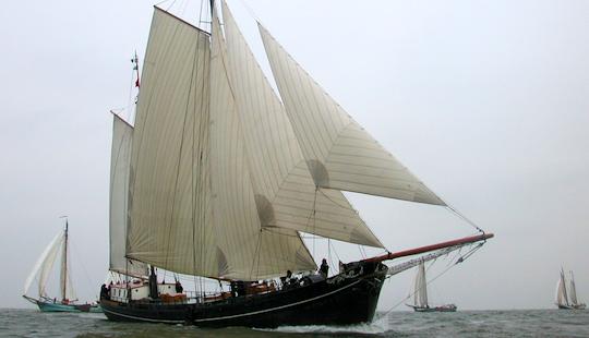 Charter 118' Aldebaran Sailing Schooner In Harlingen, Netherlands