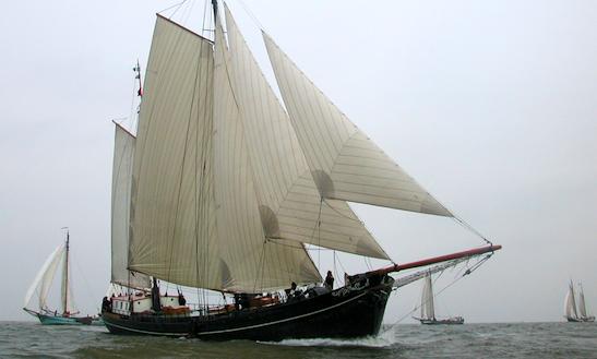 Charter 118' Aldebaran Schooner In Harlingen, Netherlands