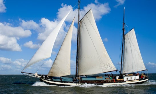Charter 118' Cruising Schooner In Harlingen, Netherlands