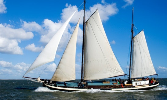 Charter 118' Schooner In Harlingen, Netherlands