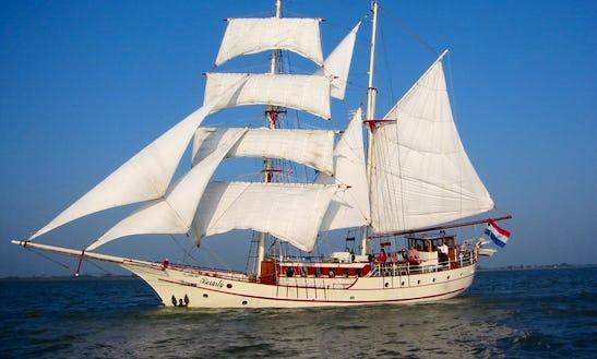 Charter 118' Sailing Schooner For 50 People In Lelystad, Flevoland
