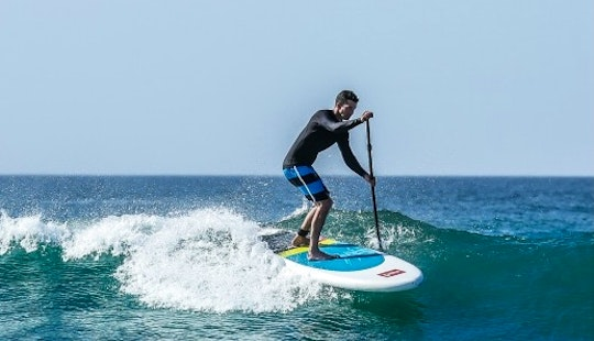 Stand Up Paddleboarding In Marbella, Spain