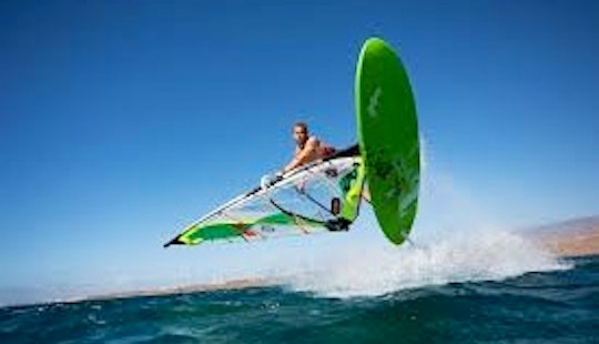 Windsurfing In Noumea, New Caledonia