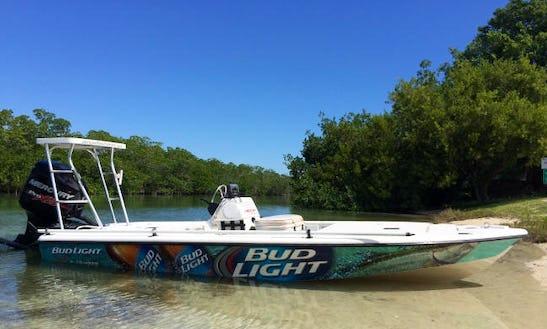 Islamorada Fishing Charter On 18' Ranger Cayman Center Console