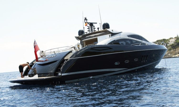 "Captained Charter On 82ft ""Hooligan"" Power Yacht In Barcelona, Spain"