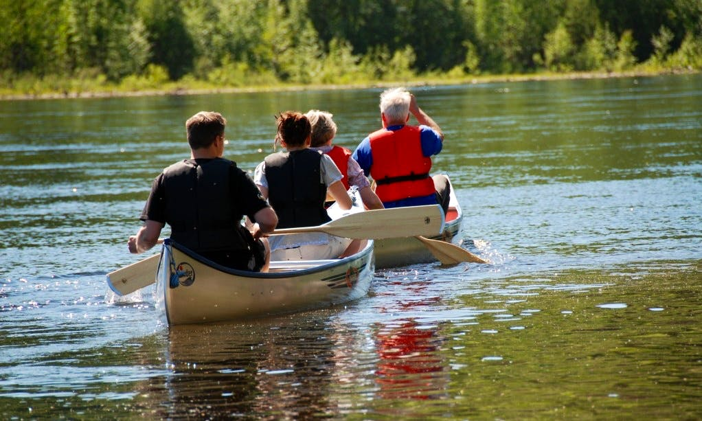 Rent a Canoe in Jämtlands län, Sweden