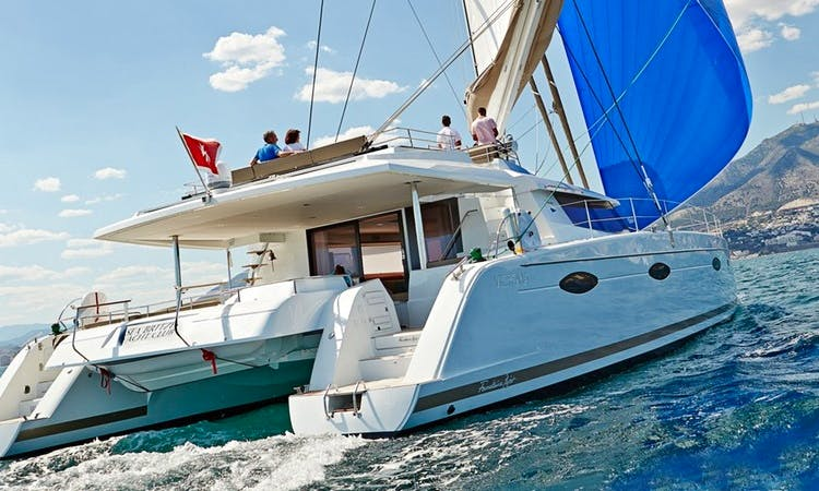 "66ft ""Lir"" Fountaine Pajot Sailing Catamaran In Barcelona, Spain"