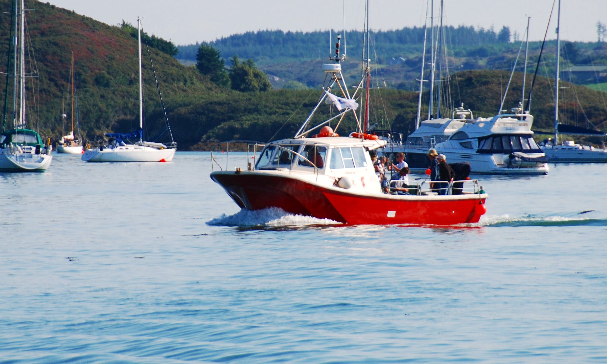 Captained Fishing Charters on Offshore 105 'Rooster' at Baltimore, Co Cork, Ireland