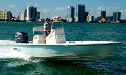 Fishing Charter on 21' Pathfinder Boat in Key Largo, Florida