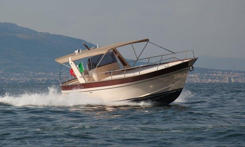 Gozzo Jeranto 900 Open in Sorrento, Italy