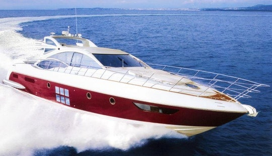 Charter The Azimut 62 S Power Mega Yacht In Sorrento, Italy