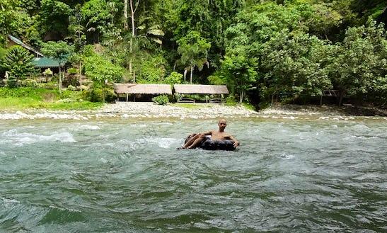 Enjoy River Tubing Trips In Medan, Indonesia