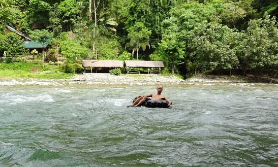 Enjoy River Tubing Trips In Medan, Indonesia