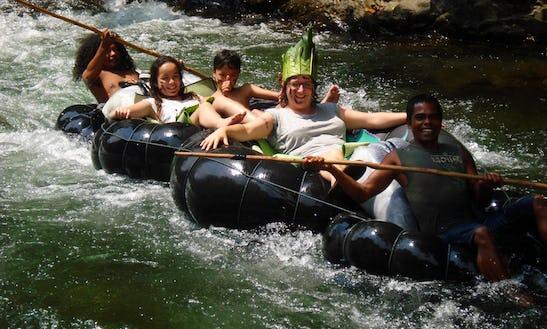 River Tubing Trips In Medan, Indonesia