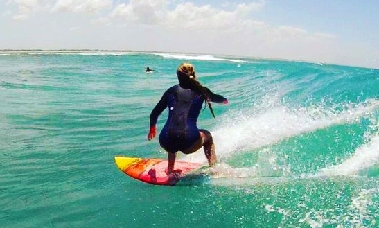 Enjoy Surf Lessons And Trips In Zanzibar, Tanzania