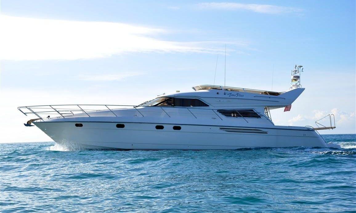 "60ft Princess ""Time Flies"" Motor Yacht Puerto Portals, Spain"
