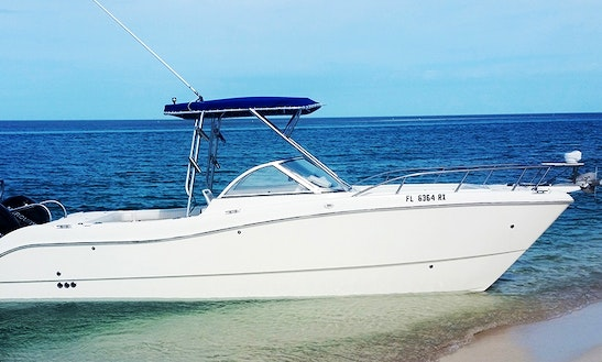 Captained Charter On 27' World Cat Catamaran In Key West, Florida.