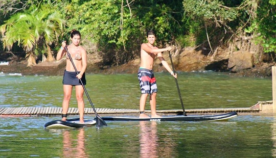 Stand Up Paddleboarding In Itacaré, Brazil