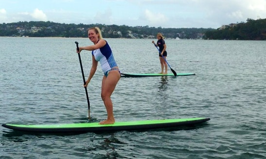 Enjoy Stand Up Paddleboard Hire And Lessons In Bundeena, New South Wales