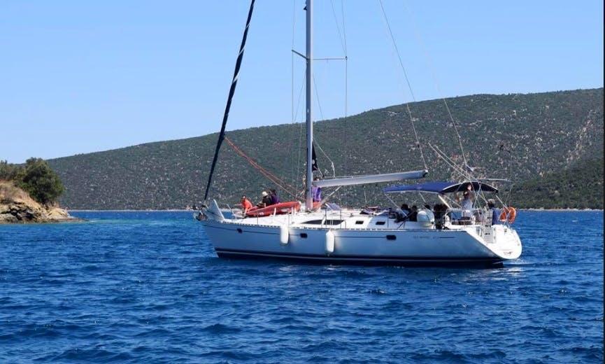 "Charter ""Iole"" Sun Odyssey 45.2 Sailing Yacht In Volos, Greece"