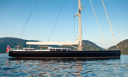 128' Vitters Sailingyacht Charter In Barcelona, Spain