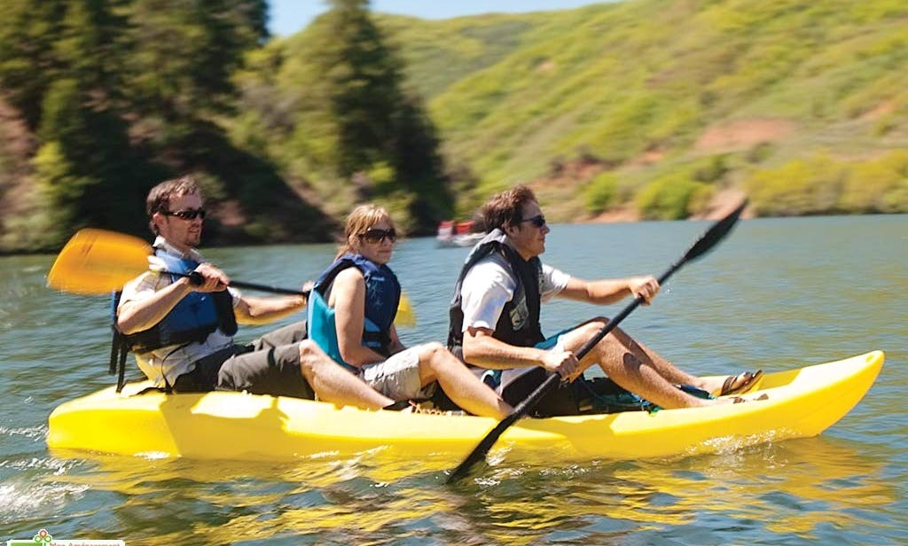 Reserve a Triple Kayak in Las Negras, Spain