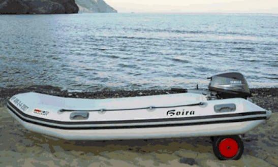 11' Rigid Inflatable Boat Rental In Las Negras, Spain