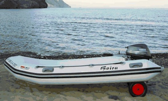 11' Rigid Inflatable Boat Rental In Las Negras, Spain