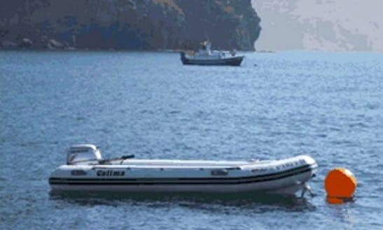 13' Rigid Inflatable Boat Rental In Las Negras, Spain