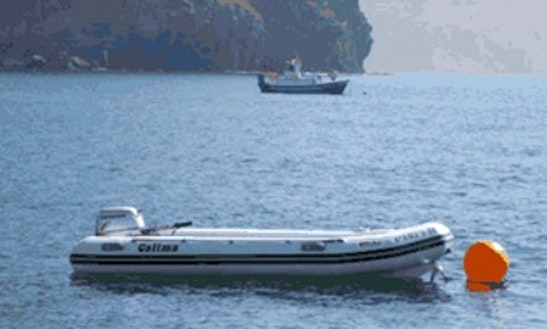 13' Rigid Inflatable Boat Rental In Las Negras, Spain