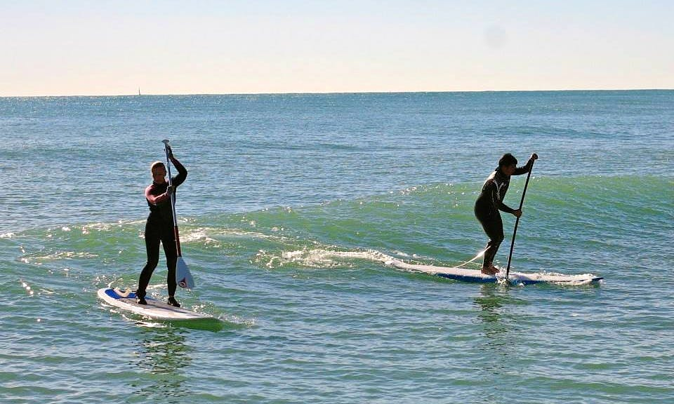 Enjoy Stand Up Paddleboard Courses in Sitges, Catalunya