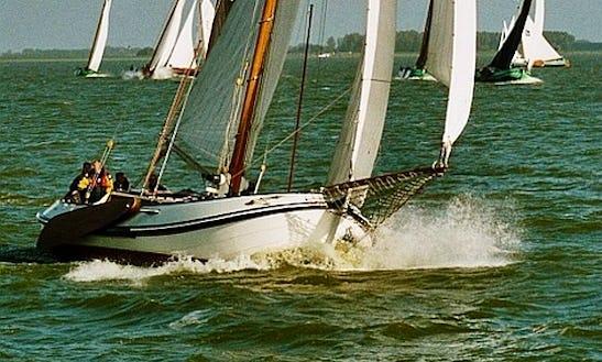 Charter 39' Lemsteraak Sloop In Woudsend, Netherlands