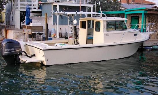 26ft Sport Cabin Parker Fishing Boat In Marathon, Florida