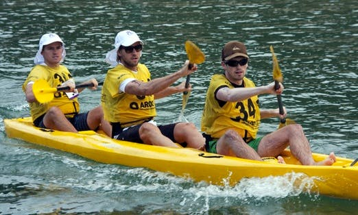 Hire a Triple Kayak with kayak transport in South Wales, Australia