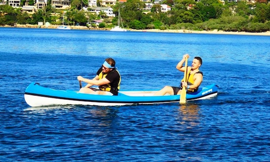 Enjoy Double Kayak Hire And Tours In Mosman, New South Wales