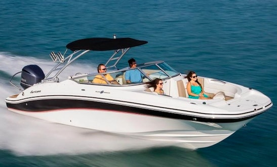 Enjoy 27 Ft 2690 Hurricane Deck Boat In Cape Coral, Florida