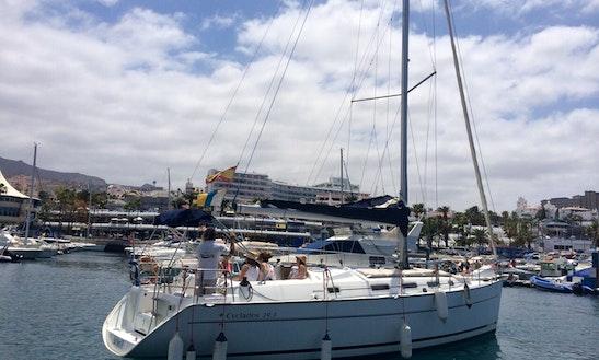 Rent My Luxury Beneteau Cyclades 39.3 In Costa Adeje (tenerife, Spain)