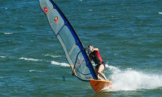 Windsurfing In Eilat, Israel
