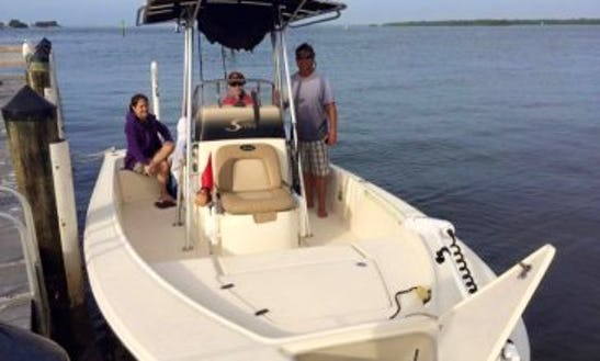 Fishing Charter On 20' Scout Center Console Fort Myers Beach, Florida