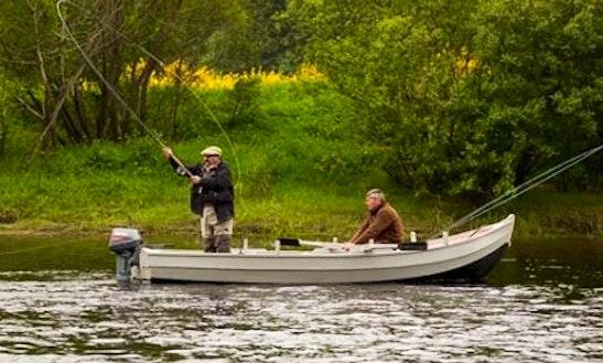Enjoy Fishing In Scotland, United Kingdom On Dinghy