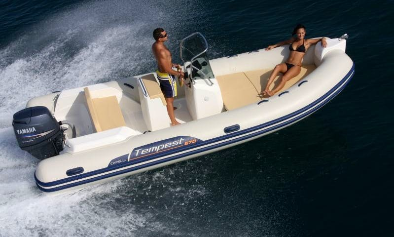 Rent 16' Rigid Inflatable Boat in Palma, Spain