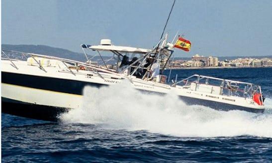 Enjoy Fishing Palma, Spain On 43' Sport Fisherman Yacht