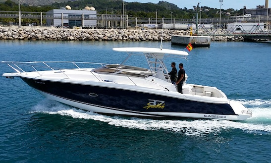 Enjoy Fishing In Palma, Spain On 40' Sport Fisherman