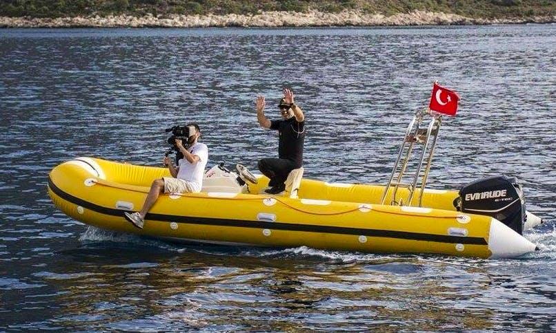 Enjoy Diving Trips in Kas, Turkey
