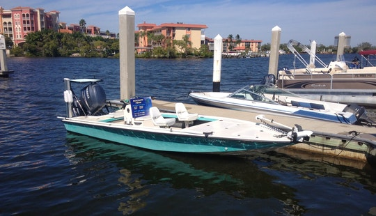 Enjoy Fishing In Naples, Florida On 20' Flats Boat