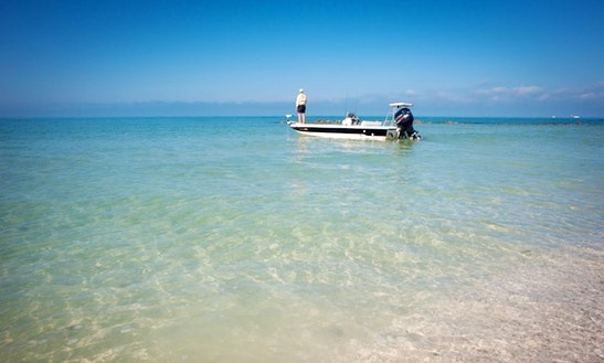 Enjoy Fishing In Marco Island, Florida In 18' Action Craft Boat