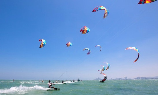 Enjoy Kitesurfing Rental And Lessons In Hua Hin, Thailand