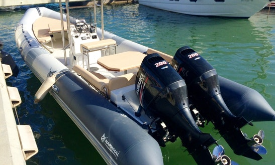 Rent 29' Rigid Inflatable Boat In Palma, Spain
